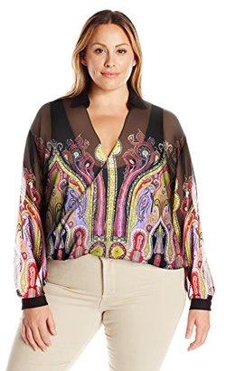 Single Dress Women's Plus Size Iris Crossover Top $29.22 thestylecure.com