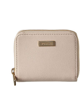 Furla Classic Small Zip Around Leather Wallet