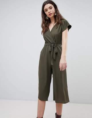 New Look Wrap Culotte Jumpsuit