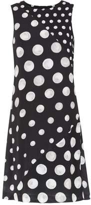 Isolda pois print Yonne dress