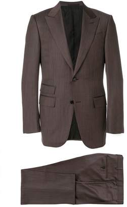 Ermenegildo Zegna woven single breasted suit
