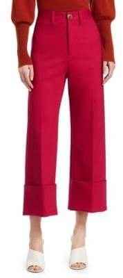 Sea Cuffed Cropped Pants
