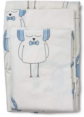 Lil' Pyar Ollie Twin Sheet & Pillowcase Set