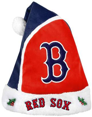 Adult Boston Red Sox Santa Hat