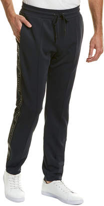 Armani Exchange Seamed Tapered Fleece Pant
