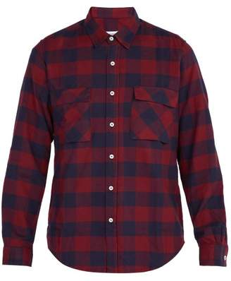 President's - Checked Cotton Shirt - Mens - Red Multi