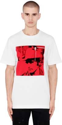 Calvin Klein Dennis Hopper Cotton Jersey T-Shirt