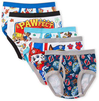 Paw Patrol (Boys 4-7) 5-Pack Printed Briefs