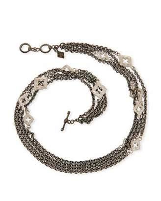Armenta New World Double-Wrap Chain Bracelet