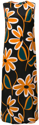 Aspesi sleeveless printed maxi dress
