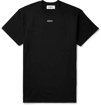 Ambush Logo-Print Cotton-Jersey T-Shirt