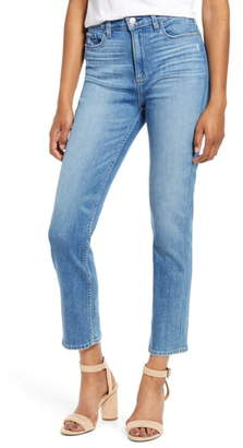 Paige Vintage - Hoxton High Waist Ankle Slim Fit Jeans