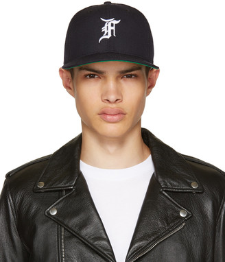 Fear of God Navy New Era Edition Cap $295 thestylecure.com