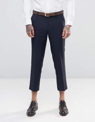 Farah Tarling Micro Weave Crop Suit Pants