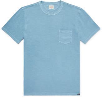 Faherty Slim-Fit Garment-Dyed Slub Cotton-Jersey T-Shirt