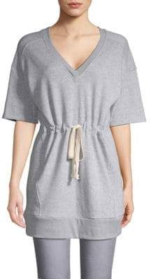 BCBGeneration V-Neck Cotton Blend Tunic
