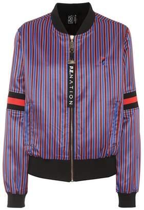 P.E Nation The Relentless satin bomber jacket