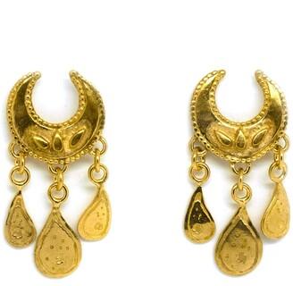 Annabelle Lucilla Jewellery Lucky Moon Ocean Droplet Studs