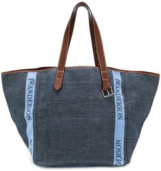 J.W.Anderson contrast handle shopper bag
