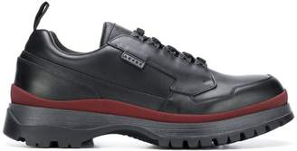 Prada chunky sole low top sneakers
