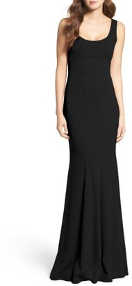 Women's Katie May Westward Stretch Crepe Gown $295 thestylecure.com
