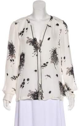 A.L.C. Silk Button-Up Top