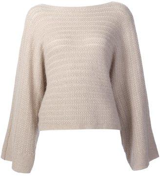 Ralph Lauren cashmere oversized sleeves jumper $1,841 thestylecure.com