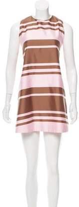 Emilia Wickstead Striped Tent Dress