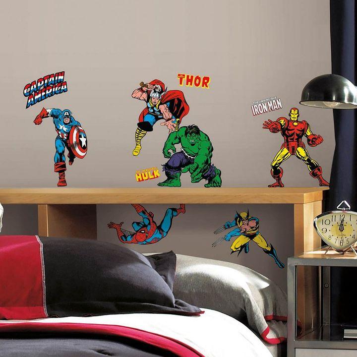 Roommates Marvel Classics Peel & Stick Wall Decals