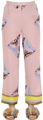 Sanchita Printed Silk Georgette Pants
