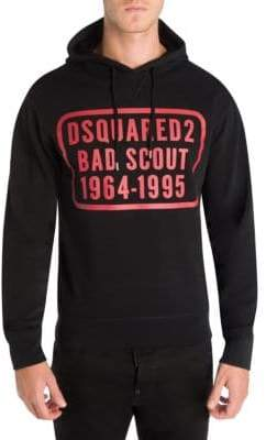 DSQUARED2 Bad Scout Cotton Hoodie