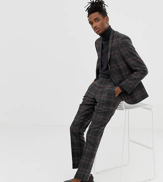 Heart N Dagger slim fit wool mix suit pants in charcoal