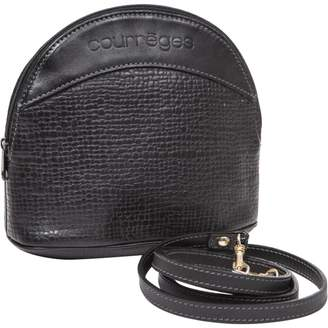Courreges Leather crossbody bag
