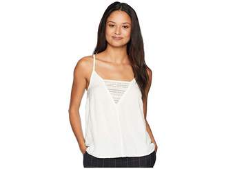 Roxy Color Spaces Woven Tank Top