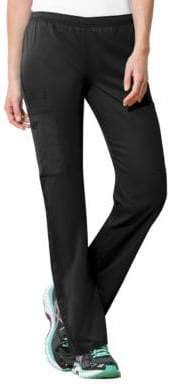 Cherokee Mid-Rise Straight Leg Pants