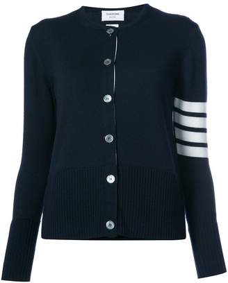 Thom Browne 2-In-1 Twin Set In Navy Fine Merino Wool