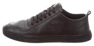 Versace Leather Medusa Sneakers
