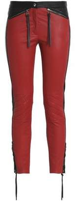 Belstaff Zip-Detailed Cotton-Blend Slim-Leg Pants