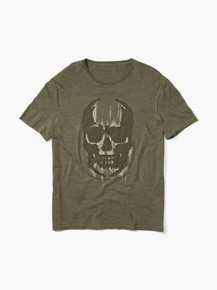 John Varvatos Faded Skull Tee