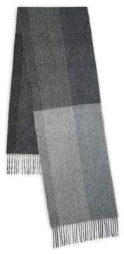 Saks Fifth Avenue Striped Cashmere Scarf