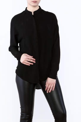 Bishop + Young Open Back Blouse