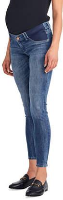 DL1961 Premium Denim Maternity Florence Mid-Rise Skinny Jeans