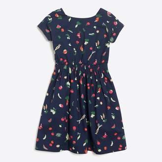 J.Crew Factory Girls' bow-back veggie dress