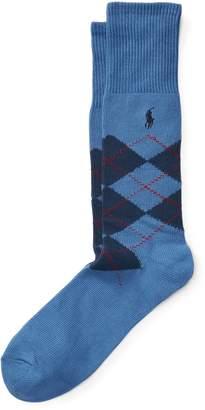 Ralph Lauren Argyle Crew Sock