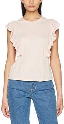 New Look Women's Frill Shell T-Shirt,6