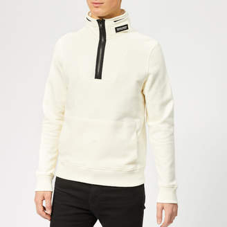 Men's Compact Half Zip Jumper Chalk