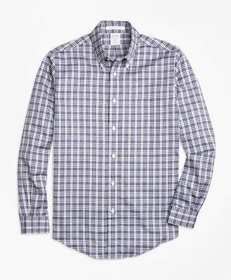 Brooks Brothers Regent Fit Plaid Sport Shirt