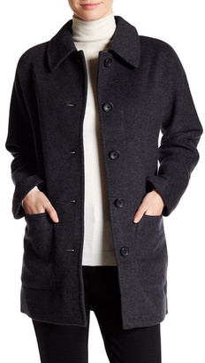 Madewell Wool Blend Coat $328 thestylecure.com
