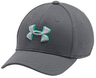 Under Armour Kids Blitzing Cap Junior Boys Breathable Hat Arched Curved Peak