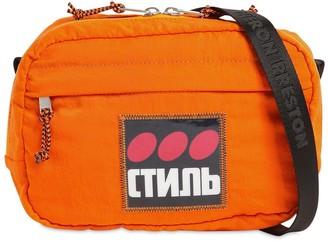 Heron Preston Ctnmb Patch Nylon Camera Bag